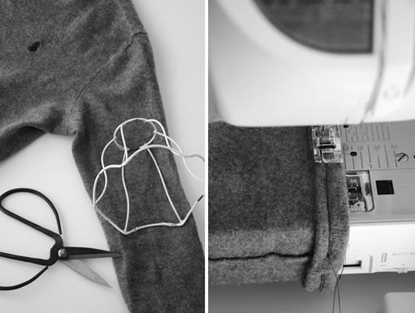 Lámpara con sweater 2