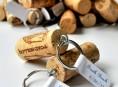imagen Fáciles llaveros con corchos de vino