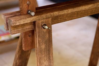 Mesa con caballetes 8