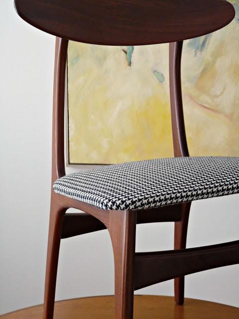 Retapizar sillas de estilo retro