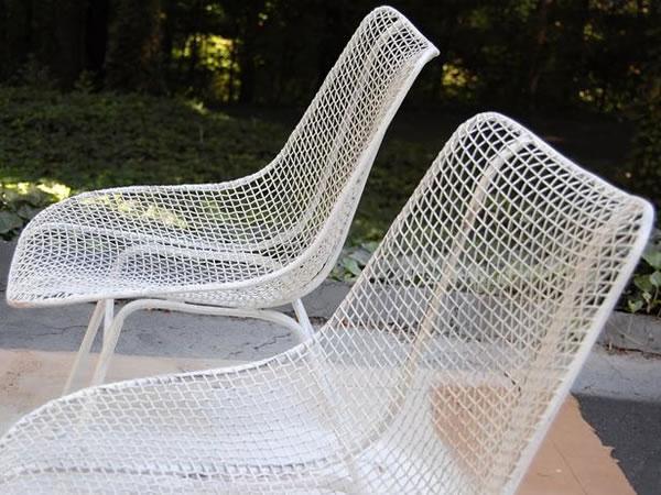Sillas de jardín recicladas 4