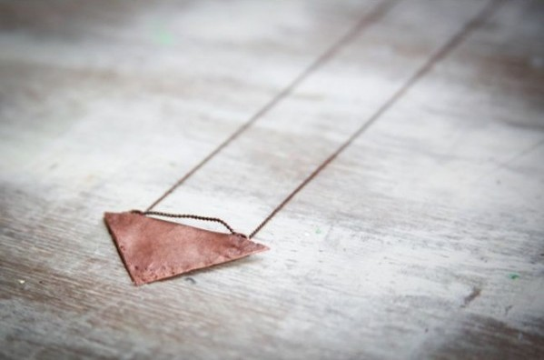 Collar de cobre recuperado 1