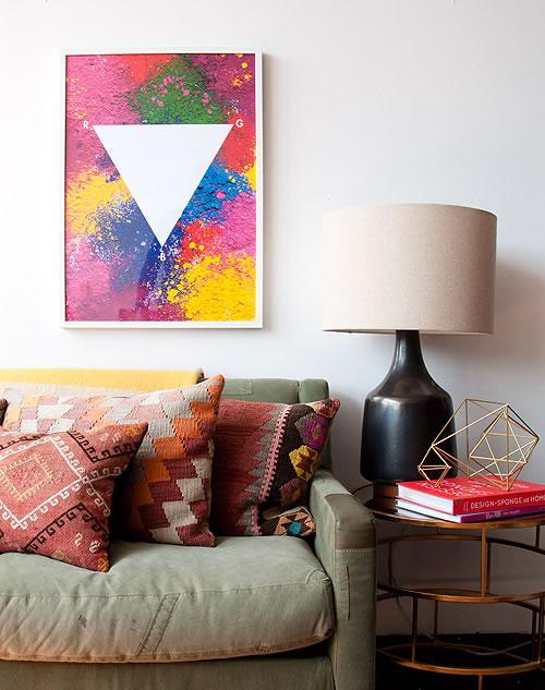 Cuadros decorativos con pigmentos gu a de manualidades - Cuadros de colores ...