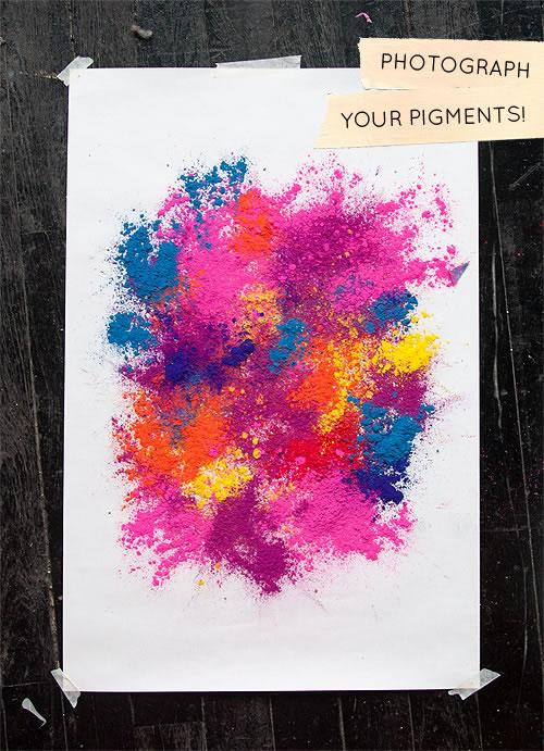 Cuadros con pigmentos 2