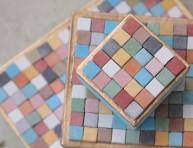 imagen Cajas decoradas con mosaicos