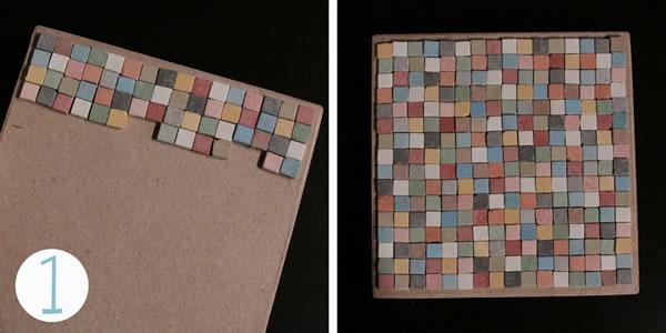 Cajas organizadoras con mosaicos 2