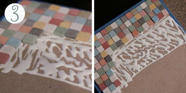 Cajas organizadoras con mosaicos 4