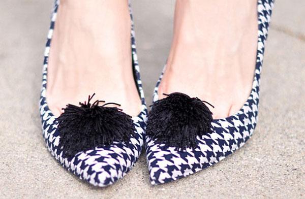 Tacones y zapatos forrados 1