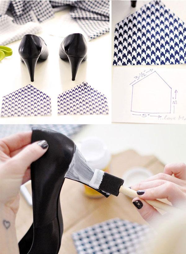 Tacones y zapatos forrados 3