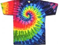 imagen Cómo teñir una camiseta en espiral
