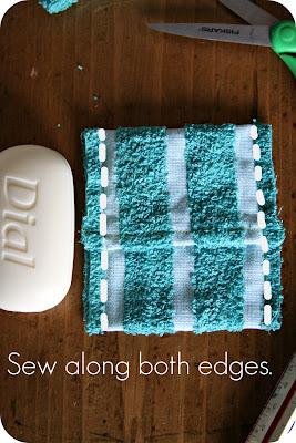 Funda exfoliante para el jabón 6
