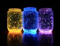 imagen Un frasco que brilla en la oscuridad