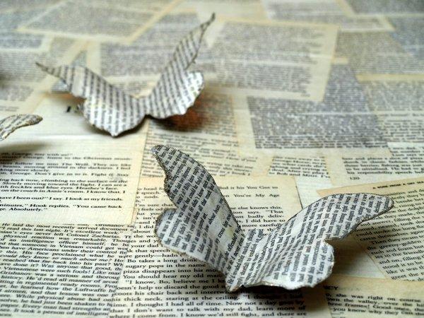 Mariposa de papel 1