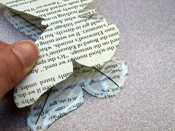 Mariposa de papel 9