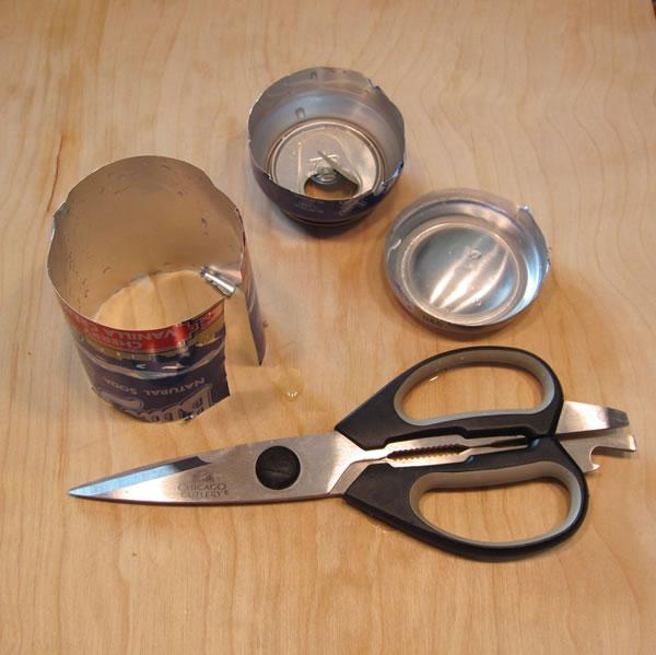 Moldes con latas 2