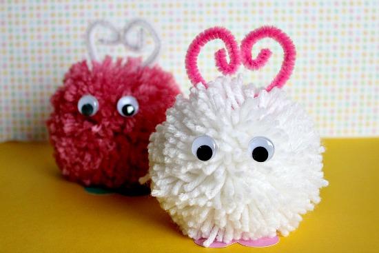 Muñecos pompón 4