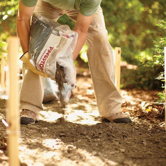 Camino de jardín paso a paso 2