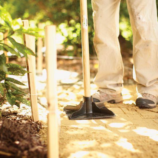Camino de jardín paso a paso 3