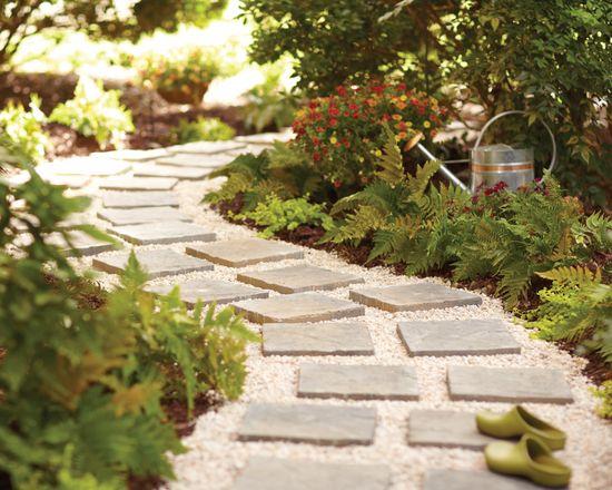 Camino de jardín paso a paso 7