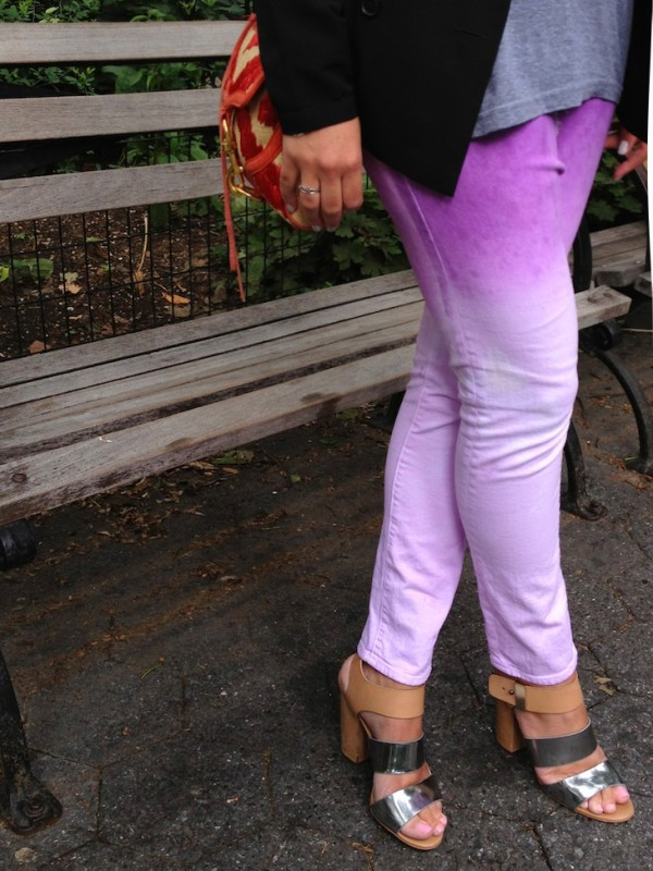 Pantalón personalizado estilo ombré 1