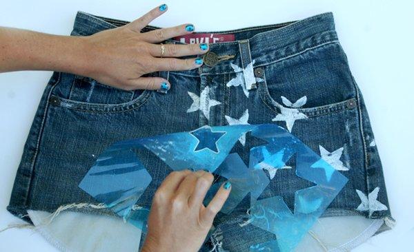 Shorts con estrellas 5