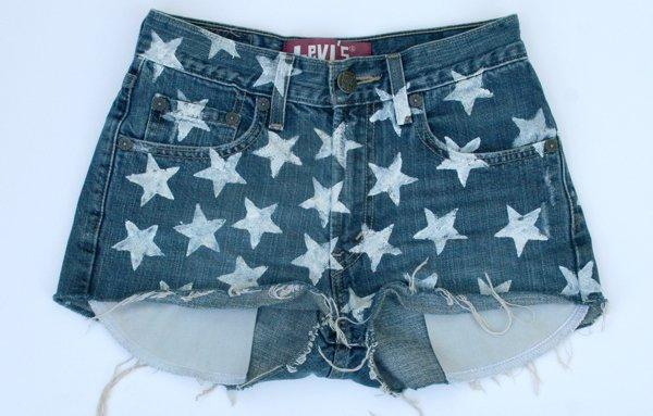 Shorts con estrellas 1