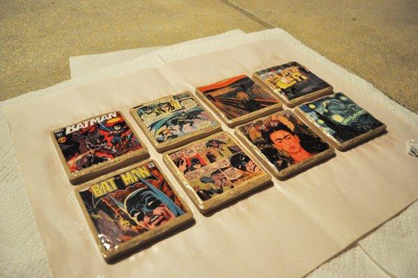 Posavasos con comics 6
