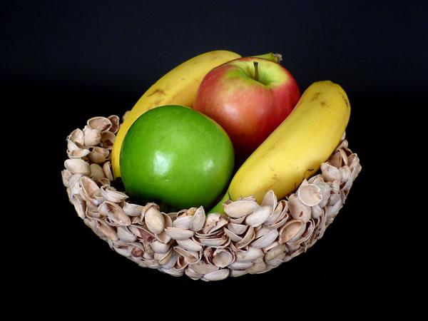 Bowl con cascaras de pistachos 1