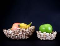 imagen Recipiente con cáscaras de pistachos