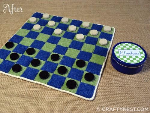 Juego de damas de alfombras 1