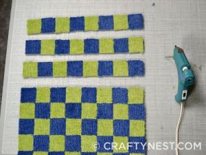 Juego de damas de alfombras 4