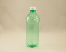 Luciérnaga con materiales reciclados 1