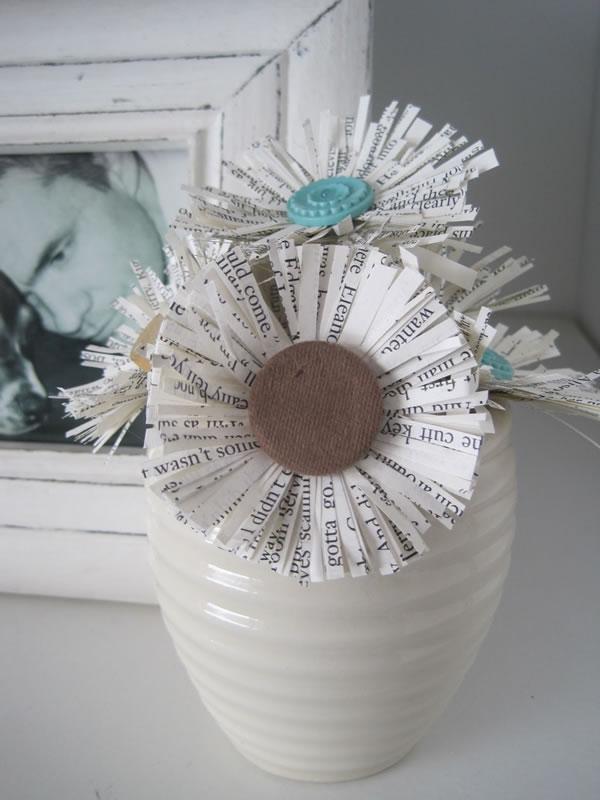 Flores de papel 1