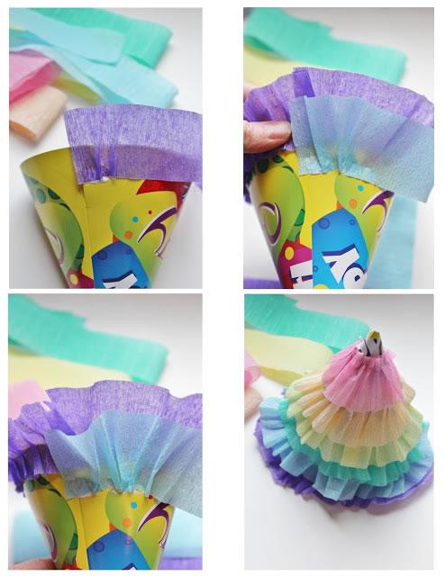 Sombreros a colores para fiestas 3