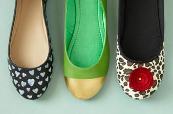 Tres ideas para renovar calzado 1