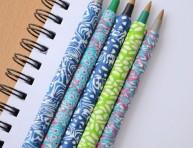 imagen Decorar bolígrafos con arcilla polimérica
