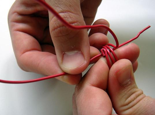 Anillos con cable eléctrico 6