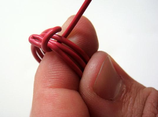 Anillos con cable eléctrico 7