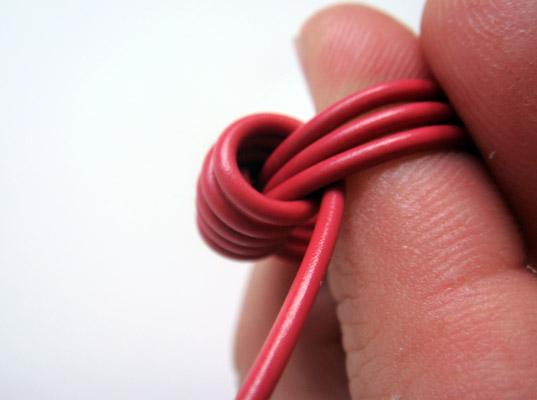Anillos con cable eléctrico 8