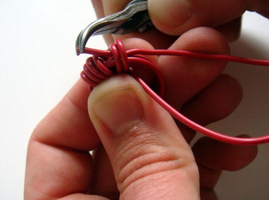 Anillos con cable eléctrico 9