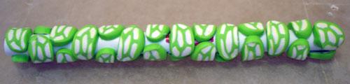 Bolígrafos decorados con arcilla polimérica 11