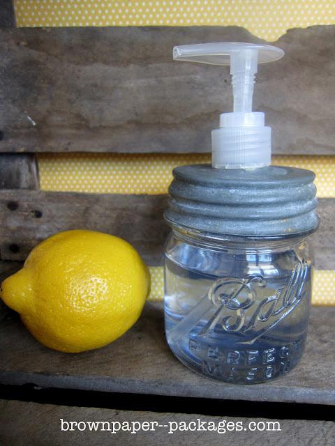 Dispensador de jabón líquido 1