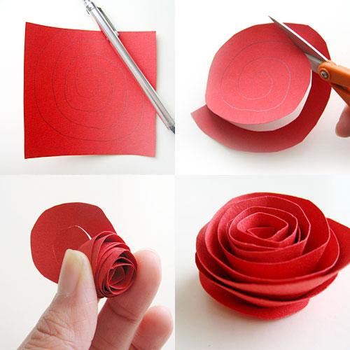 Rosas de papel 2