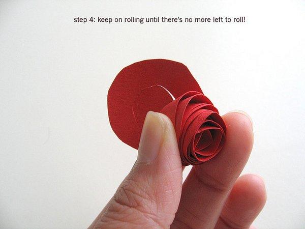 Rosas de papel 6