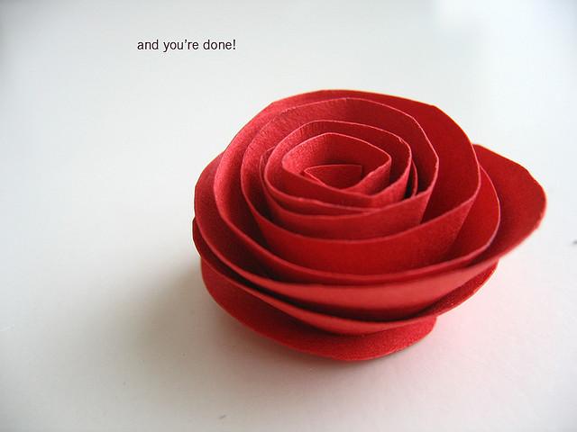 Rosas de papel 7
