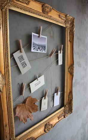 marco reciclado para fotos gu a de manualidades. Black Bedroom Furniture Sets. Home Design Ideas