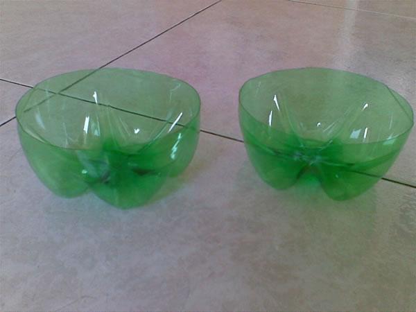 Monedero con botellas plásticas 4