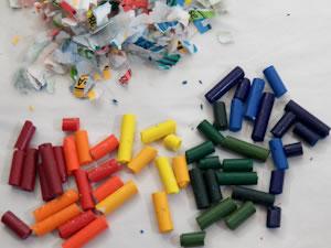 Crayones reciclados 2