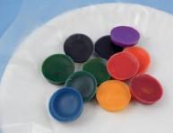 imagen Crayones de cera reciclados