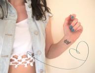 imagen Camiseta 'trendy' con nudos